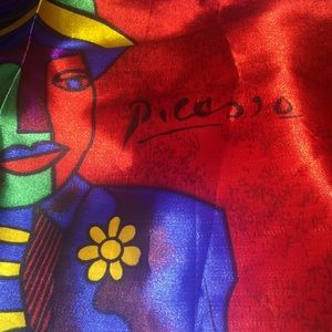 Slightly used Picasso scarf